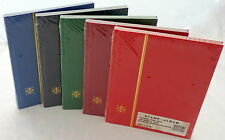 2 New Sealed A5 Lighthouse Stamp Stock books In Various Colours
