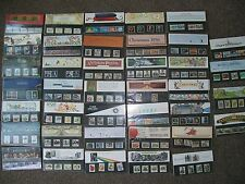 GB 1985 to 1989 Commemorative Presentation Packs Multiple Listing  ONLY 70p P&P