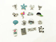 10pcs lot  floating charms Fits living memory glass locket You pick FC567--FC585