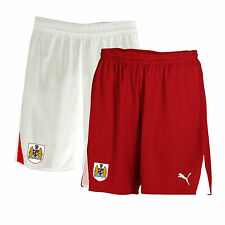 Bristol City FC Shorts Home/Away Football New Puma Kids