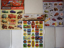 NEW DISNEY-PIXAR CARS or CARS 2 Stickers * Your Choice *  SANDYLION or SAVVI