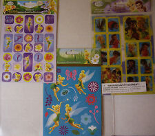 NEW DISNEY FAIRIES TINKERBELL Stickers * Your Choice * Motion Stickers SANDYLION