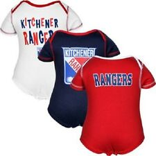 Reebok Kitchener Rangers Newborn/Infant 3-Pack Creeper Set