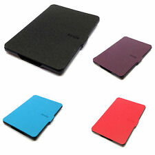 "New For Amazon Kindle Paperwhite 6"" Slim Fit Leather Case Cover with Wake/Sleep"