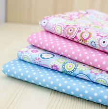 New Cotton Fabric Pre-Cut Quilt cloth Fabric for Sewing 4 Colour S55