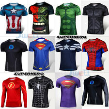 Superhero The Avengers Costume Tee shirt Sports Cycling outdoor Jersey T-Shirts