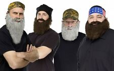 Crazy Quackers Adult Duck Dynasty Costume Accessory Phil Si Jase Willie fnt