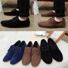 New Men Driving Moccasins Loafers Slip Fashion casual boat flat sneakers shoes