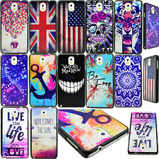 Plastic Hard Back Phone Skin Case Cover For Samsung Galaxy Note 3 Note III N9000