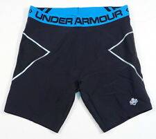 Under Armour NFL Combine Authentic On Field Black Compression Shorts Mens NWT