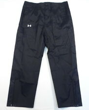 Under Armour Coldgear Black Loose Fit Waterproof Track Pants Mens NWT