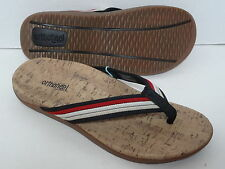 ORTHAHEEL Shoes Women's South Beach Thong Sandal Black / Red Size US 5 -11