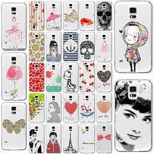 Soft TPU Transparent Silicon Case Cover For Samsung Galaxy S4 S5 S6 Edge Note 4