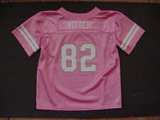 NWT New Jason Witten 82 Dallas Cowboys MESH Jersey Toddler Pink Sz 2T 3T 4T