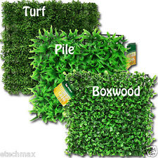 """9.5"""" ARTIFICIAL GRASS Mat Rug SQUARES Synthetic for Pets AQUARIUMS 3 Styles"""
