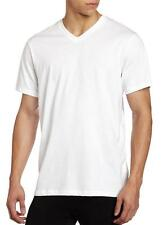 NEW MEN'S HUGO BOSS 3 PACK PREMIUM COTTON V-NECK SHIRT T-SHIRT WHITE 50239869