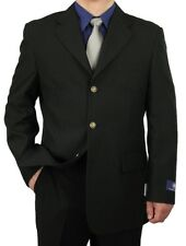 SHARP MEN 3B DRESS BLAZER BLACK 36S-48L tb27