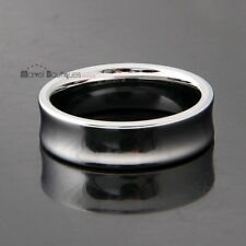 7mm Men Women Tungsten Carbide High Polished Band Couple Wedding Ring Size 6-15