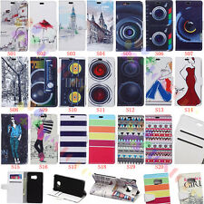wallet Card Holder Leather Case Stand Cover for Blackberry Asus Iphone Series SF