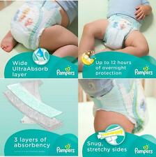 Pampers Baby Dry Diapers *Pick Your Baby Size Nb, 1, 2, 3, 4, 5, 6 Great Deal!