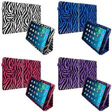 Zebra Color Folio Pouch Case Cover Flip Stand Accessory for iPad Air 2
