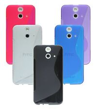 silicone Cover cell phone shell Rubber Bumper Case for HTC ONE E8 +