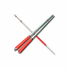 Tiger Claw Elite Competition 2 Piece Bo Staff with Case - Red