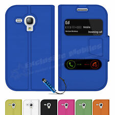 Flip Wallet Leather Case Cover For Apple iPhone 5 5S 5C 4 4S Screen Protector