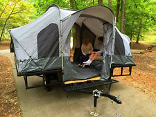 Camper Tent & Utility Trailer ATV UTV Kayak Dirt Bike Motorcycle Camp Camping