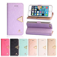 PU Leather Case Diamond Flip Wallet Case Luxury Cover For iphone 5 5G 5S/4 4G 4S