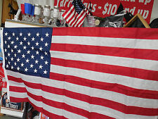 USA FLAGS US FLAG MADE IN THE USA OUTDOOR  FLAG POLY Material free ship