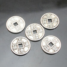 30/70/150pcs Tibetan Silver Old Coins Spacer Loose Beads Findings15x15mm