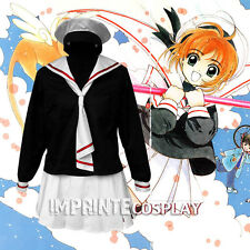Cardcaptor Sakura Tomoeda School Girls Winter Uniform Cosplay Costume FREE P&P