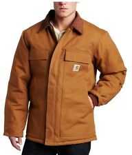 Carhartt C003 BROWN Men's Arctic Quilt Lined Duck Traditional Coat Mix Sizes