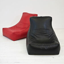 Faux Leather Curve Chaise Lounge Gaming Gamer Chair Bean Bag Seat COVER ONLY