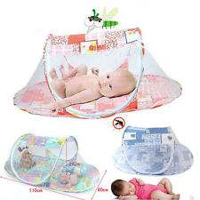Baby Tent Mosquito Infant Travel Foldable Crib Bed Net Canopy Playpen Mattress