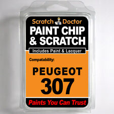 PEUGEOT 307 touch up paint Chip Grattare AUTO KIT RIPARAZ. anno 2001 - 2006
