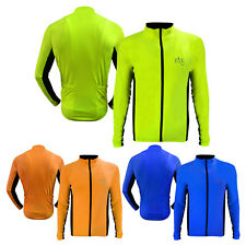 Winter Cycling Jersey Shirt Cycle MTB Top Jacket Full Sleeves Jersey S TO XXL