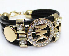 New Fashion Korean Style Letter Exquisite Luxury Charm Crystal Bracelets