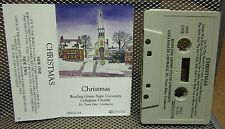 BOWLING GREEN Collegiate Chorale cassette tape BGSU Christmas 1987 Ohio
