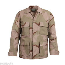 tri color desert camo bdu shirt military style camouflage coat rothco 8960