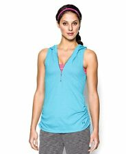 Under Armour Women's Charged Cotton Tri-Blend My Way Sleeveless Hoodie