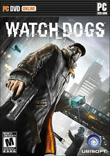 NEW PC DVD-ROM video game: Watch Dogs (Free U.S. Shipping)