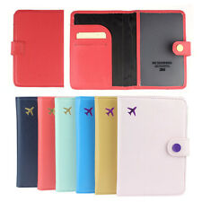 Fashion Travel Passport Holder Organizer Protector Cover Cute Card Case Wallet