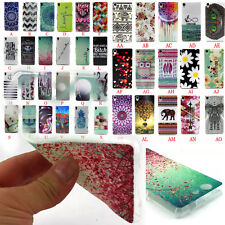 Rubber Soft TPU Silicone Phone Back Case Cover For Sony Xperia Z3 Z3 Compact NEW