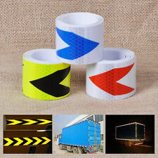 """2""""X10' 3M Arrow Reflective Safety Warning Conspicuity Tape Caution Film Sticker"""