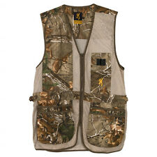 Mens NWT Browning Trapper Creek Mesh Shooting Vest Realtree Xtra Camo Size S-3XL