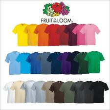 3 x Fruit of the Loom Value Weight T-Shirt Valueweight T-Shirts S-5XL ab 7,77€