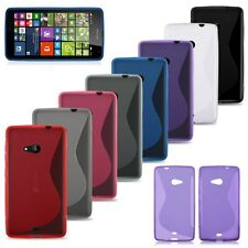 COVER CUSTODIA CASE MORBIDE IN SILICONE TPU PER NOKIA LUMIA 535 N535