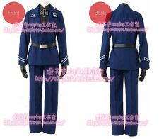Anime APH Axis Powers Hetalia Prussia Military Army Uniform Cosplay Costume